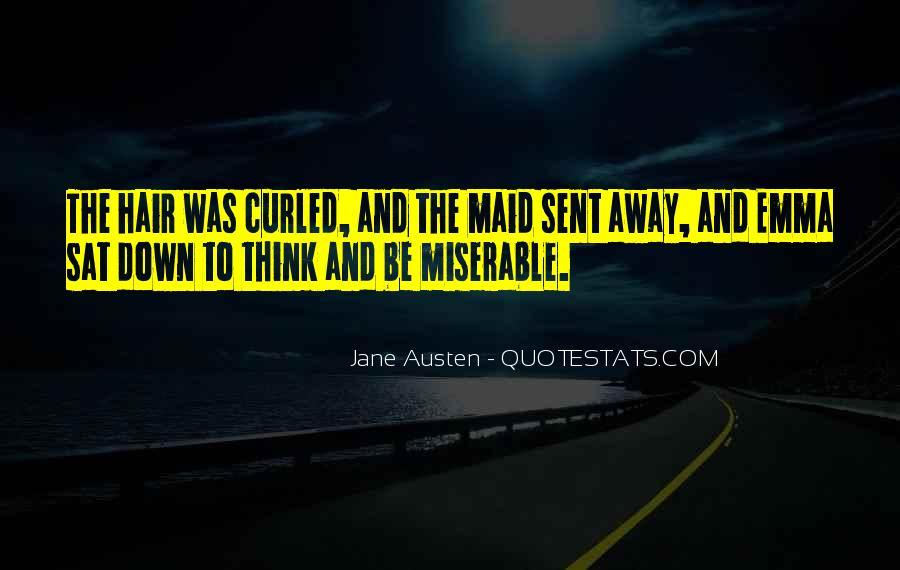 Quotes About Emma Jane Austen #308438