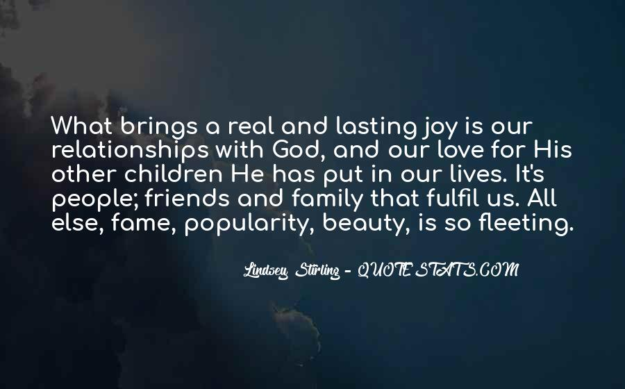 Quotes About Friends And Family Relationships #1789376