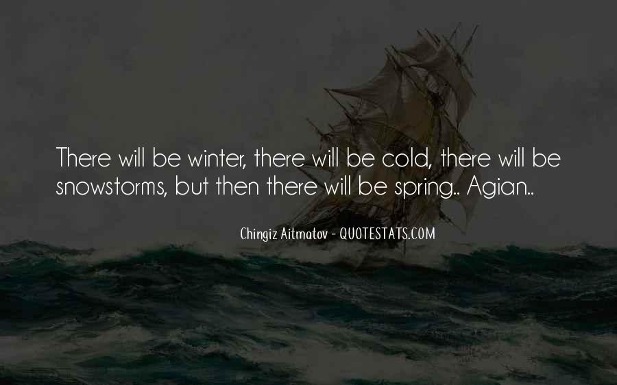 Quotes About Snowstorms #701059
