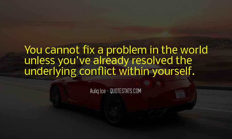 Quotes About Conflict Within Yourself #1240446