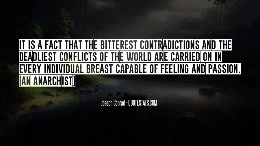 Quotes About Conflict Within Yourself #1939