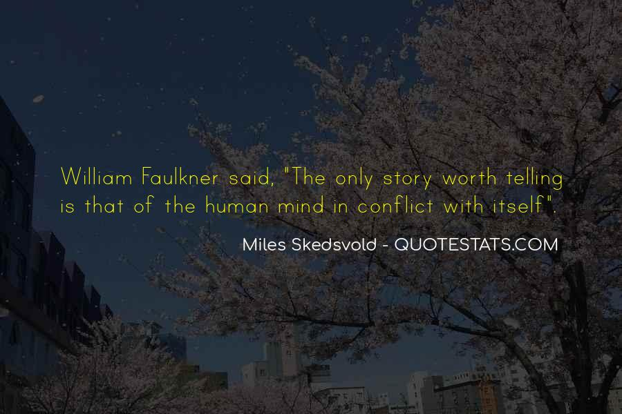 Quotes About Conflict Within Yourself #7366