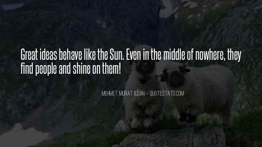 Quotes About Middle Of Nowhere #1399652