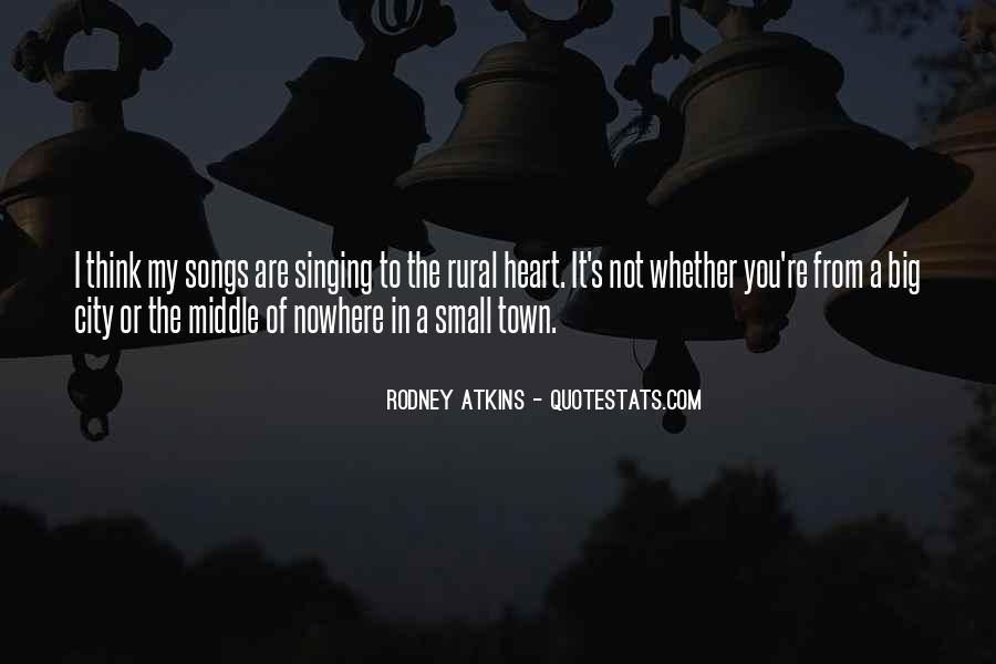 Quotes About Middle Of Nowhere #1477094