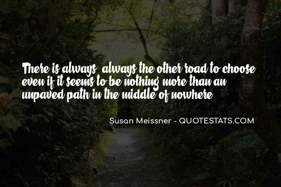 Quotes About Middle Of Nowhere #220712