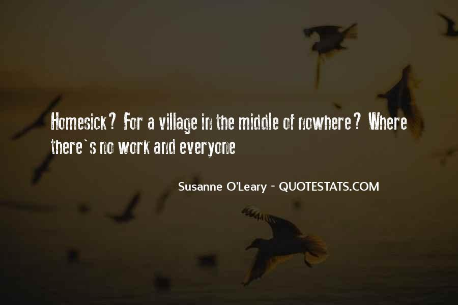 Quotes About Middle Of Nowhere #311198
