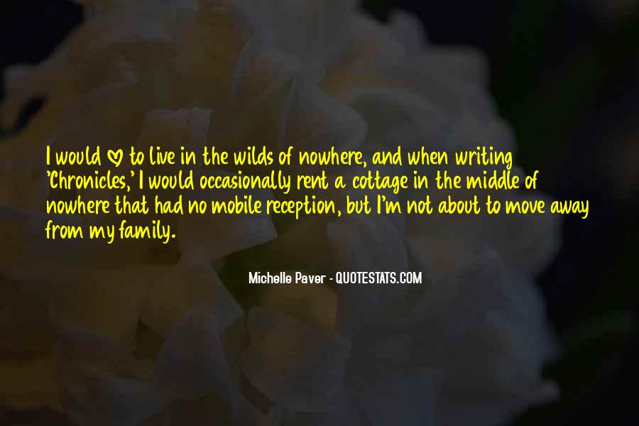 Quotes About Middle Of Nowhere #444589