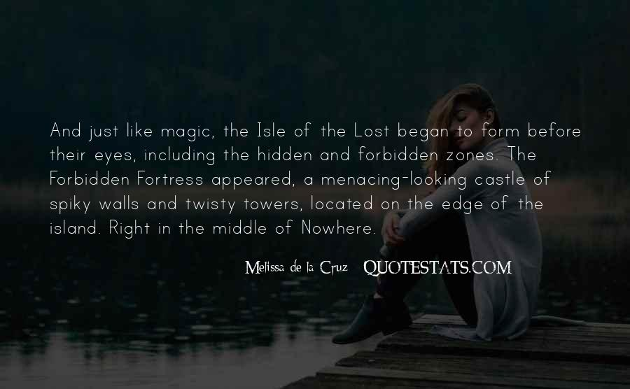 Quotes About Middle Of Nowhere #877594