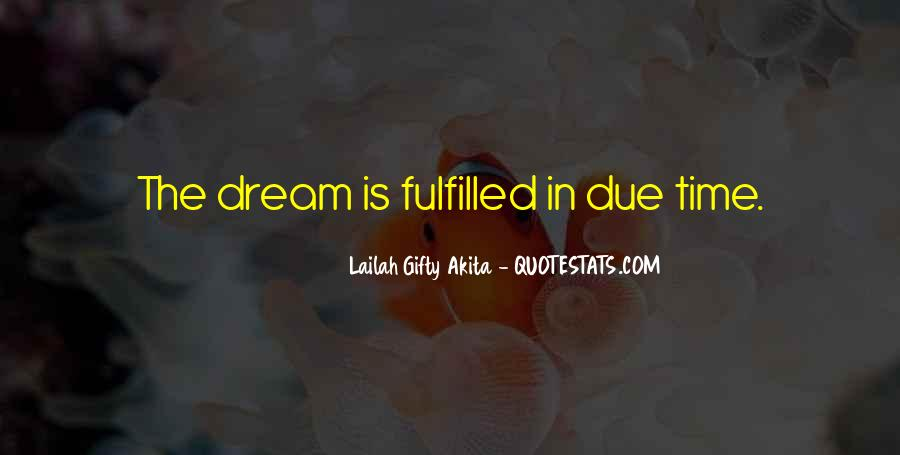 Quotes About Due Time #379304
