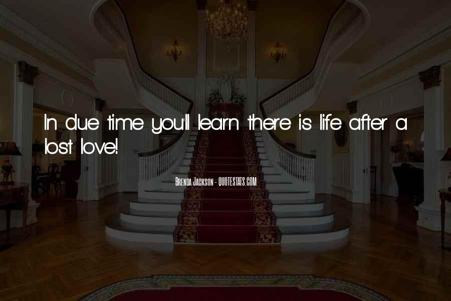 Quotes About Due Time #603835