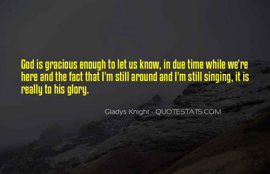 Quotes About Due Time #8166