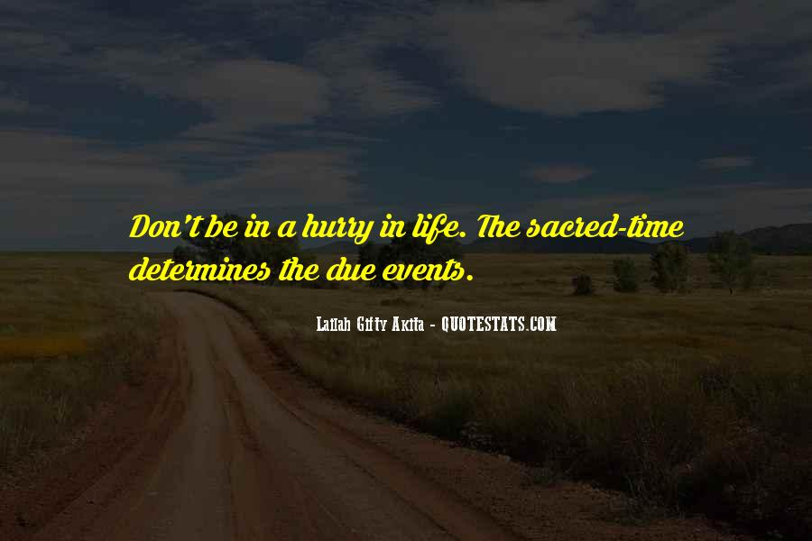 Quotes About Due Time #922960