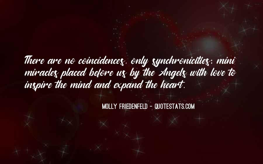Quotes About Synchronicities #177051