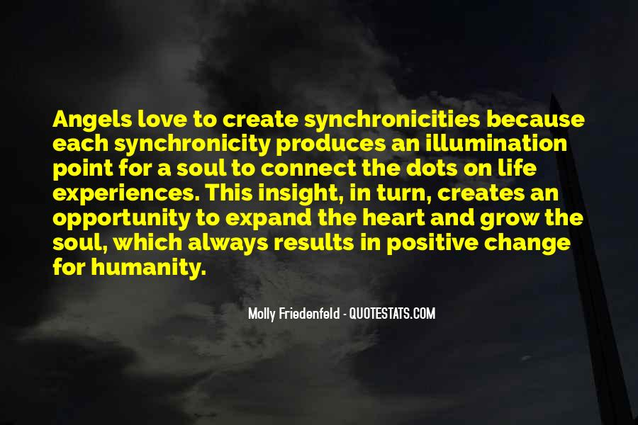Quotes About Synchronicities #248380