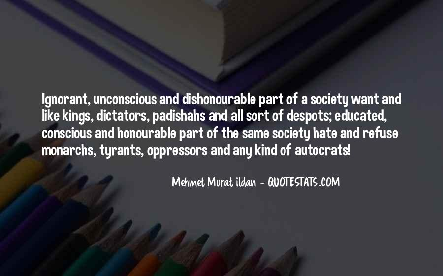 Quotes About Autocrats #1652205