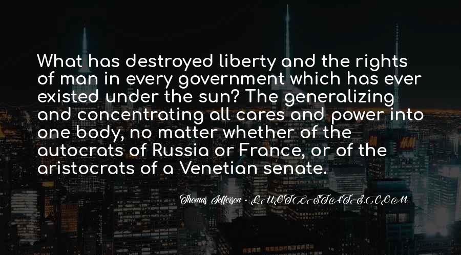 Quotes About Autocrats #435095