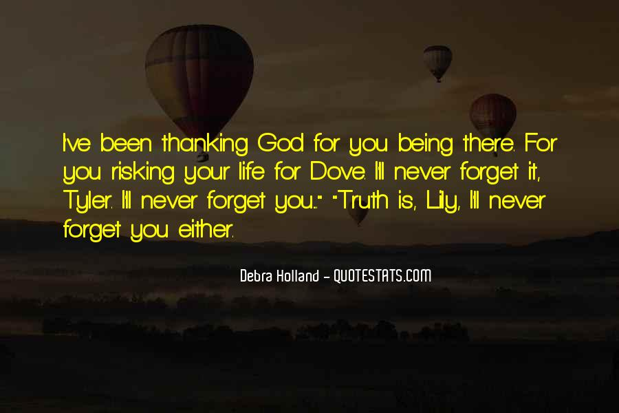 Quotes About Thanking God For Our Life #591351