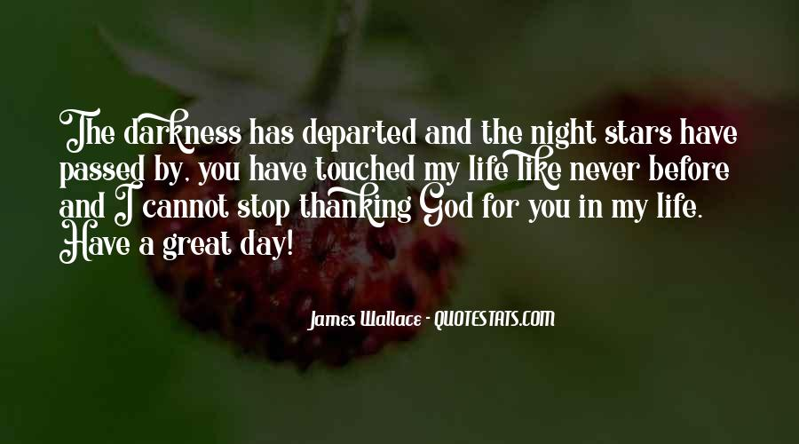 Quotes About Thanking God For Our Life #862078