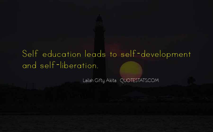 Quotes About Education And Liberation #1533033