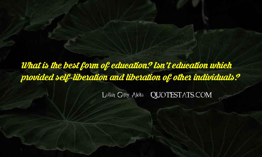 Quotes About Education And Liberation #389227