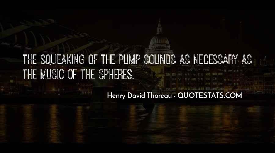 Quotes About Pumps #689826
