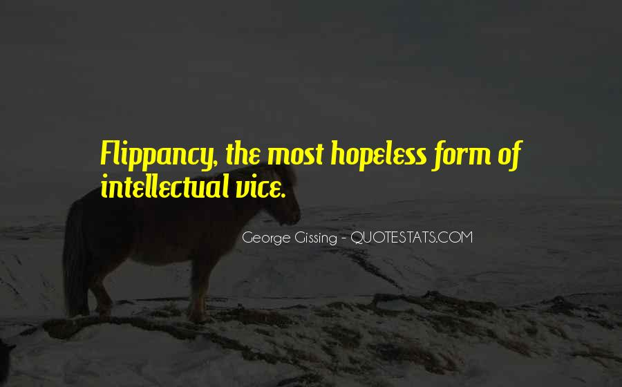 Quotes About Flippancy #465833
