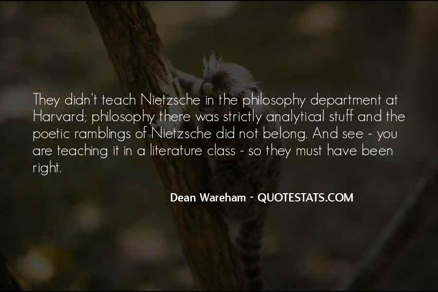 Quotes About Literature And Philosophy #1027162