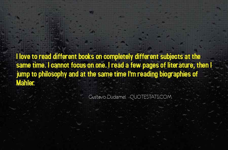 Quotes About Literature And Philosophy #1291041