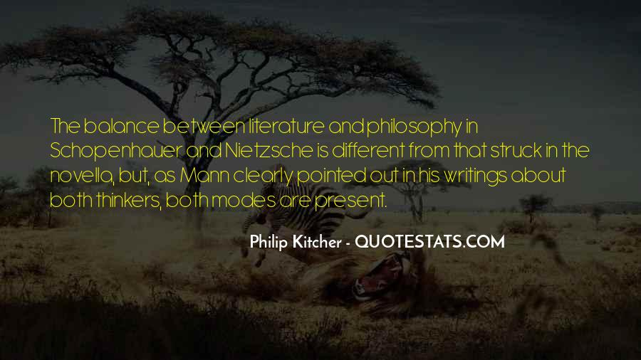 Quotes About Literature And Philosophy #1435053