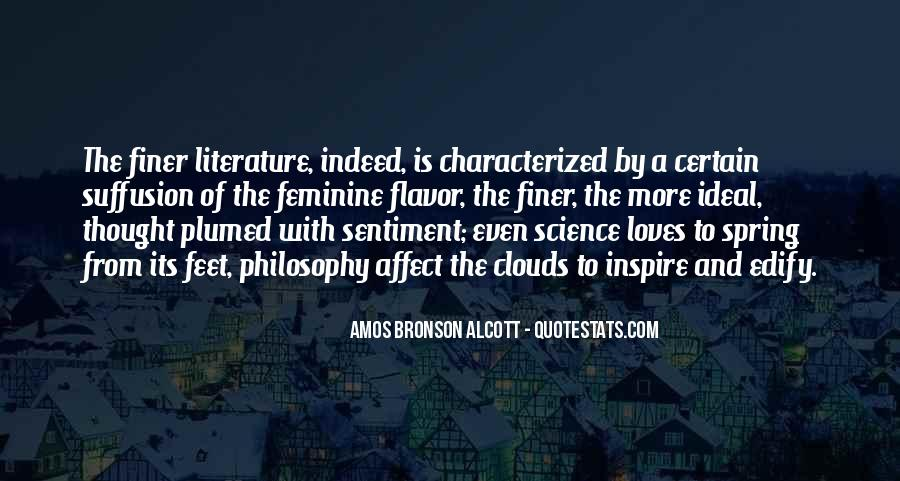 Quotes About Literature And Philosophy #1504110