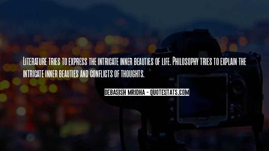Quotes About Literature And Philosophy #1596806