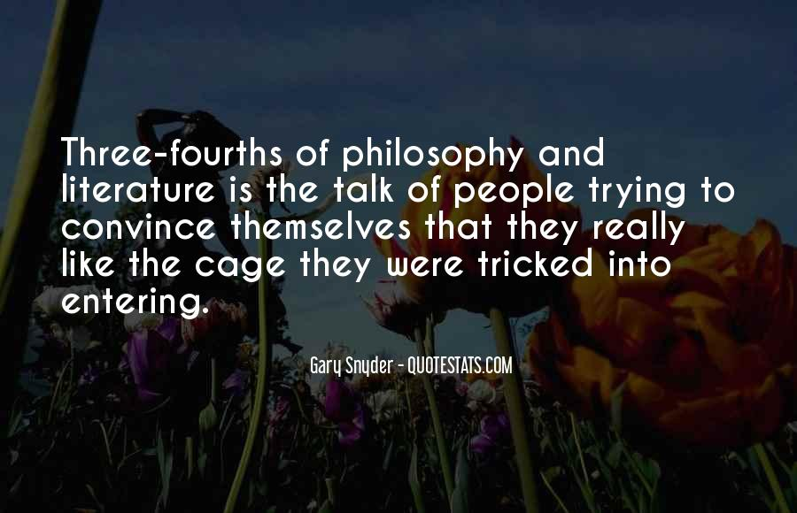 Quotes About Literature And Philosophy #186174