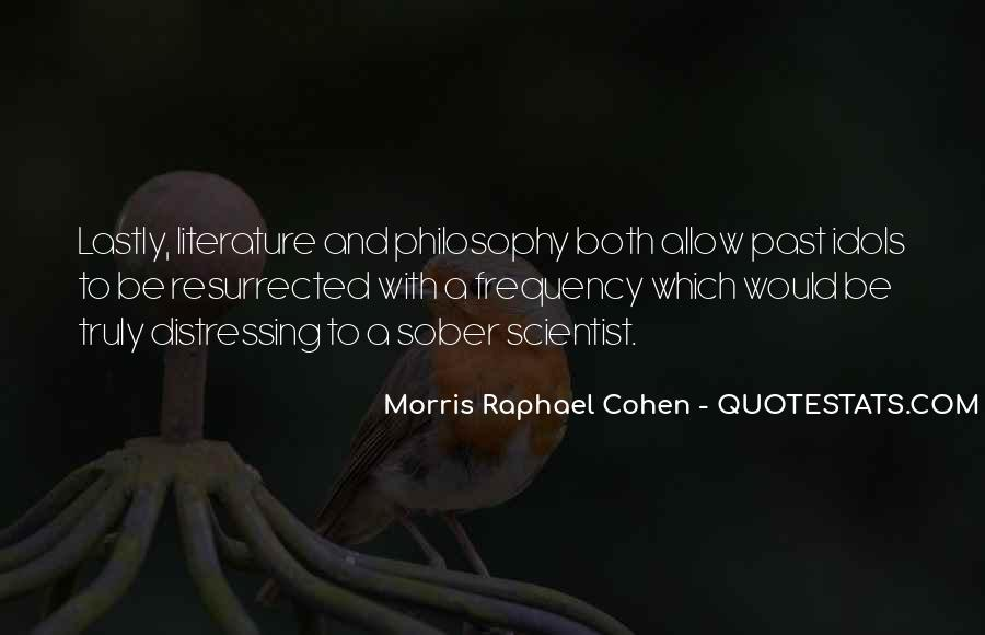 Quotes About Literature And Philosophy #240238
