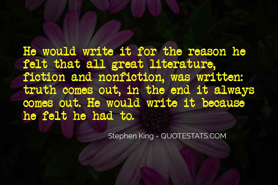Quotes About Literature And Philosophy #85569