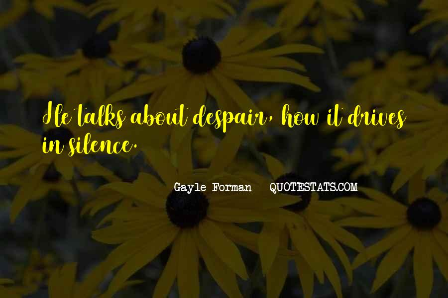 Quotes About Talks #14226