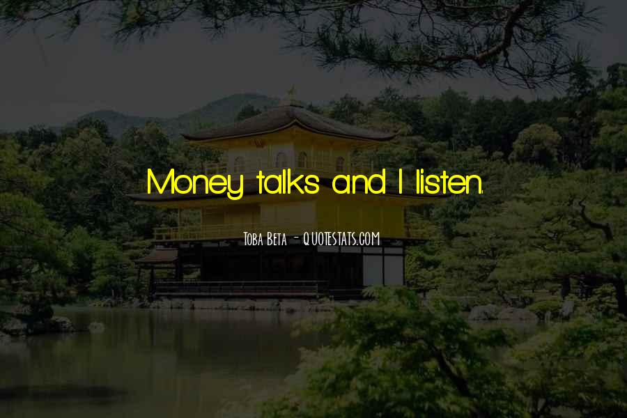 Quotes About Talks #52904