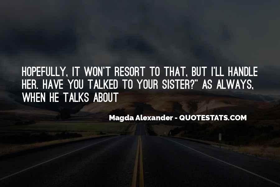 Quotes About Talks #83207