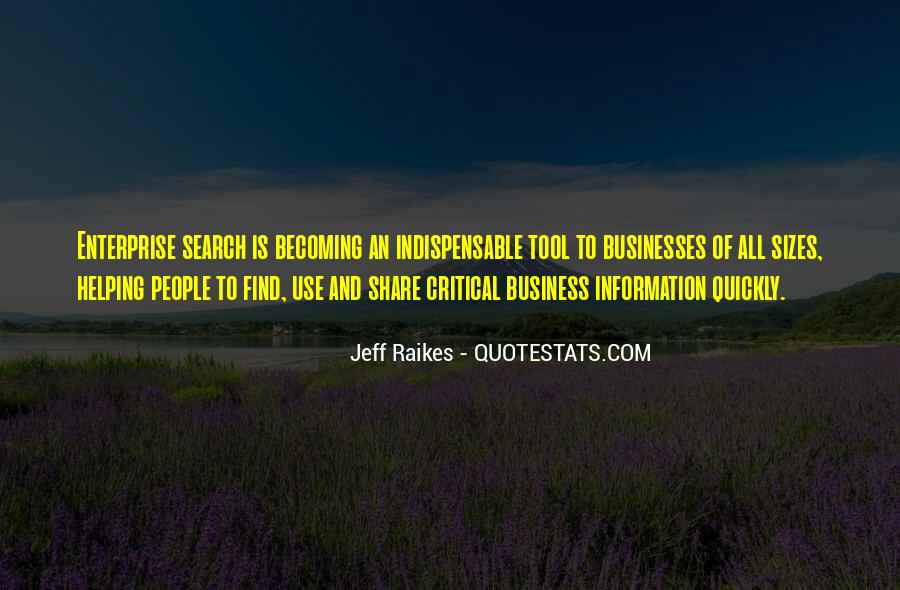 Quotes About Enterprise #135707