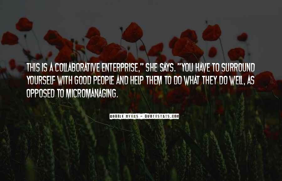 Quotes About Enterprise #194430