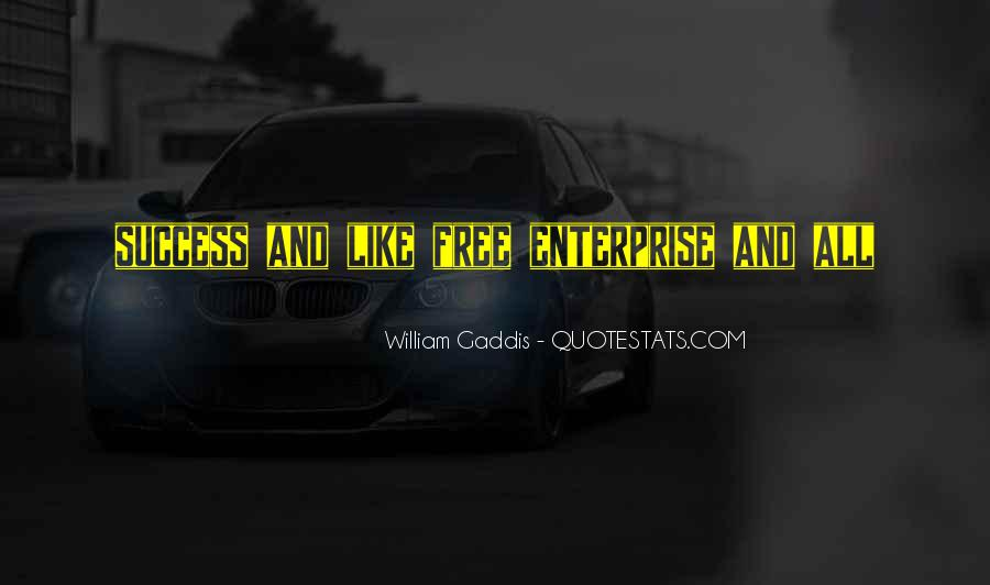 Quotes About Enterprise #99473