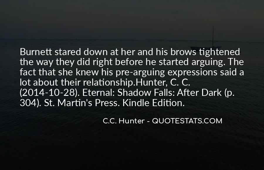 Quotes About Arguing In A Relationship #1302828