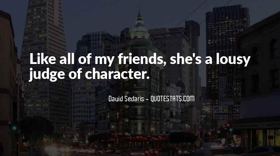 Quotes About Those Who Judge Others #13893