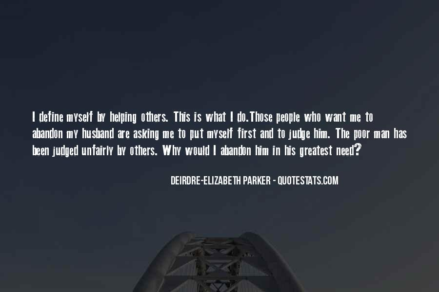 Quotes About Those Who Judge Others #163205