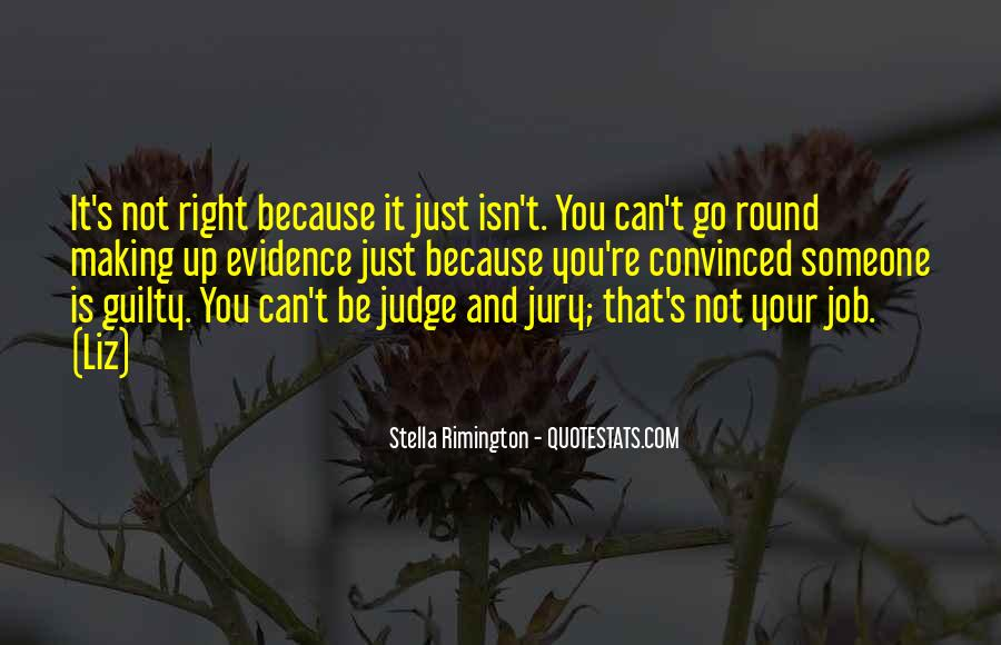 Quotes About Those Who Judge Others #8086