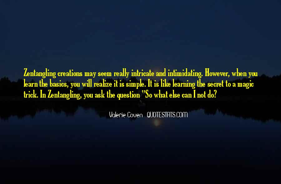 Quotes About Learning Basics #1312502