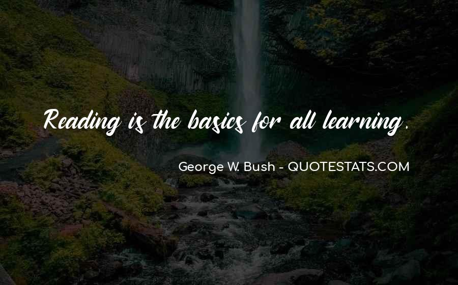 Quotes About Learning Basics #511999