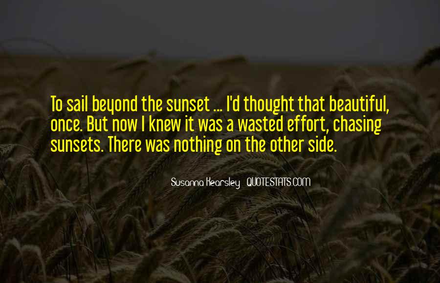 Quotes About Beautiful Sunsets #996477