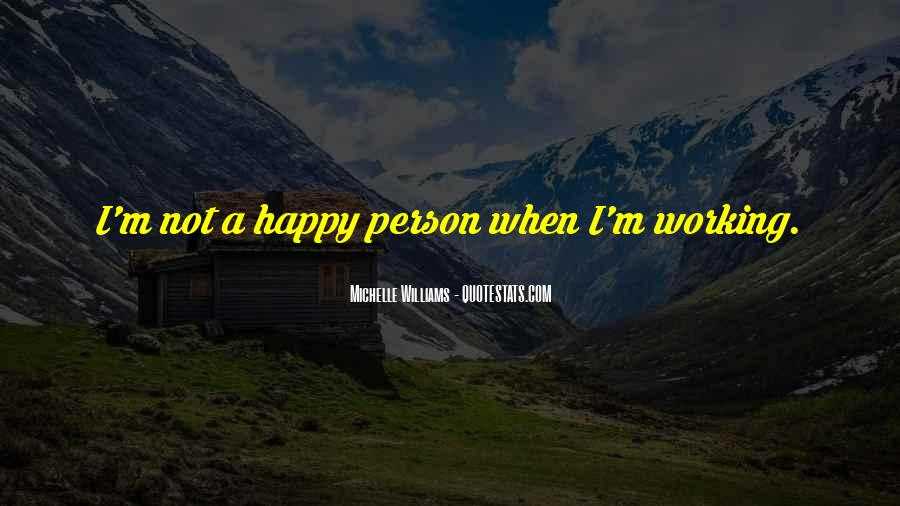 Quotes About Happy Person #100711