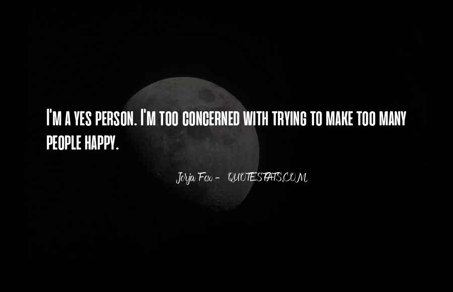 Quotes About Happy Person #119788