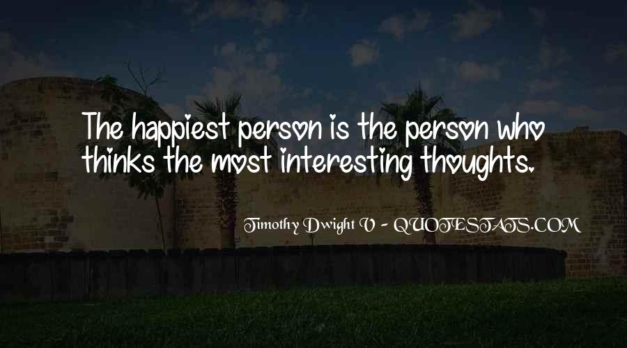 Quotes About Happy Person #132756